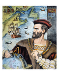 Jacques Cartier (1491-1557) Giclee Print