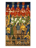 England: Court, 15Th Century Art