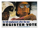 WWII: Employment Poster Prints by Ben Shahn