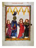 Heidelberg Lieder, C.14Th Giclee Print