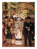 Rivera: Alameda Park Giclee Print by Diego Rivera