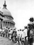 Bonus Army Marchers, 1932 Photographic Print