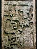 Mayan Glyph Photographic Print