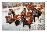 China: Poster, C1973 Giclee Print