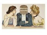Gibson Girls, 1903 Giclee Print by Charles Dana Gibson
