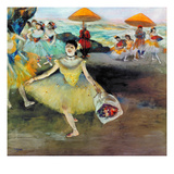 Degas: Dancer, 1878 Giclee Print by Edgar Degas