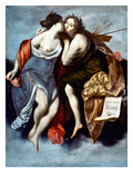 Furini: Muses, 17Th Century Giclee Print by Francesco Furini