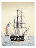 Perry's Expedition To Japan Giclee Print