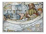 Amerigo Vespucci (1454-1512) Giclee Print by Martin Waldseemuller