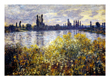 Monet: Seine/Vetheil, 1880 Giclee Print by Claude Monet