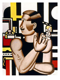 Leger: Mechanic, 1920 Giclee Print by Fernand Leger