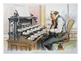 G. Cleveland Cartoon, 1893 Giclee Print by Bernhard Gillam
