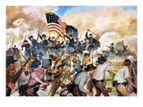 Civil War: Vicksburg, 1863 Premium Giclee Print by Hugh Charles McBarron