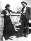 Bonnie And Clyde, 1933 Photographic Print