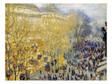 Monet: Carnival, 1873 Giclee Print by Claude Monet