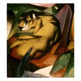 Marc: The Tiger, 1912 Giclée-tryk af Franz Marc