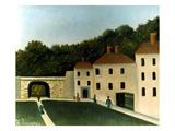 Rousseau:Promenaders,C1907 Prints by Henri Rousseau
