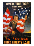 World War I: Liberty Loan Premium Giclee Print by Sidney Riesenberg