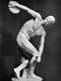 The Discobolus, 450.B.C Photographic Print by  Myron