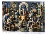 Alchemy: Laboratory Premium Giclee Print by Joan Galle