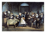 Witch Trial Giclee Print by George Walker