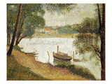 Seurat: Gray Weather Giclee Print by Georges Seurat