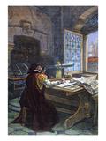 Galileo Galilei (1564-1642) Print