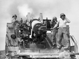 Korean War: Artillerymen Photographic Print