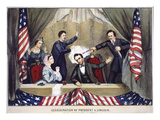 Lincoln Assassination Giclee Print