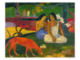 Gauguin: Arearea, 1892 Giclee Print by Paul Gauguin