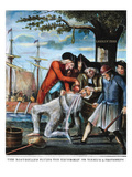 Tarring & Feathering, 1773 Print