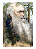 Charles Robert Darwin Prints by Frederick Waddy