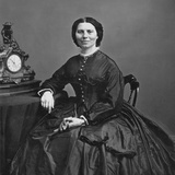 Clara Barton (1821-1912) Photographic Print by Mathew Brady