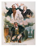 Cartoon: Panic Of 1893 Giclee Print by Joseph Keppler
