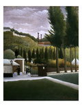 Rousseau: House, C1900 Giclee Print by Henri Rousseau
