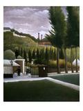 Rousseau: House, C1900 Posters by Henri Rousseau