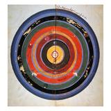 Pre-Copernican Universe Art by Johann Tolhopf