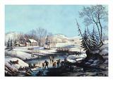Winter Scene: Morning 1854
