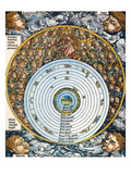 Ptolemaic Universe, 1493 Giclee Print