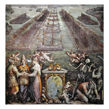 Battle Of Lepanto, 1571 Giclee Print