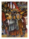 Immigrants, Nyc, 1937-38 Giclee Print by Ben Shahn