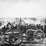 Civil War: Howitzer Gun Photographic Print