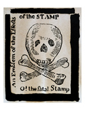 Stamp Act: Cartoon, 1765 Posters