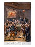 Cartoon: Politicians, 1770S Art