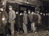 New York: Bread Line, 1907 Photographic Print
