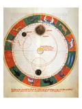 Astronomy: A Zodiac Posters by Johannes de Sacrobosco