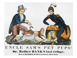 Uncle Sam: Cartoon, 1840 Prints
