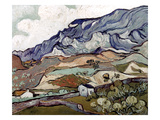 Van Gogh: Landscape, 1890 Art Print by Vincent van Gogh