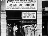 Suffrage Headquarters Photographic Print