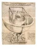 Kepler&#39;s Universe, 1596 Giclee Print by Johannes Kepler